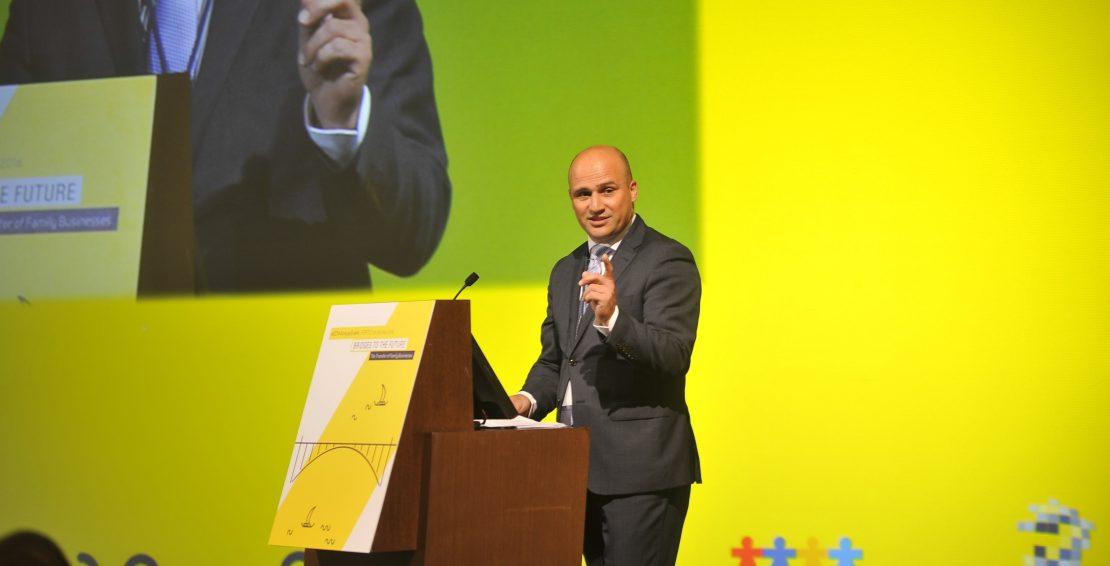 Bernhard Sagmeister, Chairman of AECM