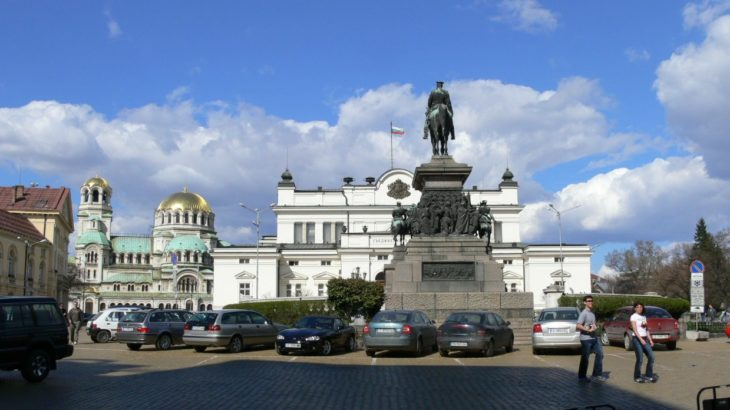parliament of bulgaria in sofia